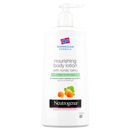 Neutrogena® Norwegian Formula Nourishing Body Lotion with Nordic Berry 400ml