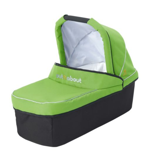 Out 'n' About Nipper V3 & V4 Carrycot - Mojito Green