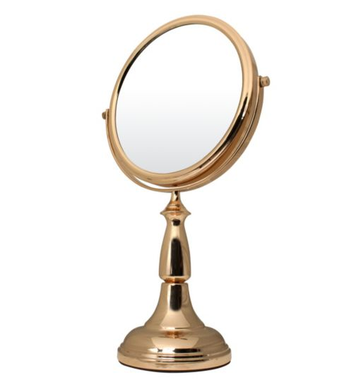Danielle Creations Mirror in Gold Finish