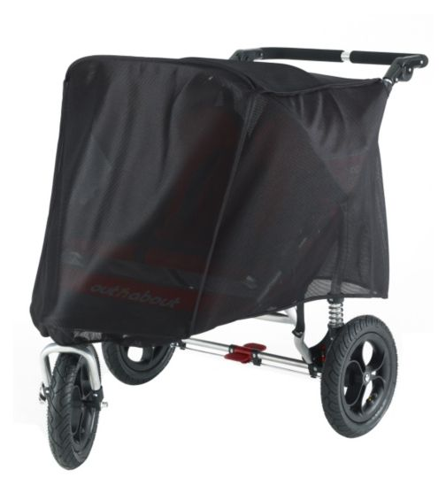 UV Cover for Out 'n' About Nipper V3 360° Double Pushchair