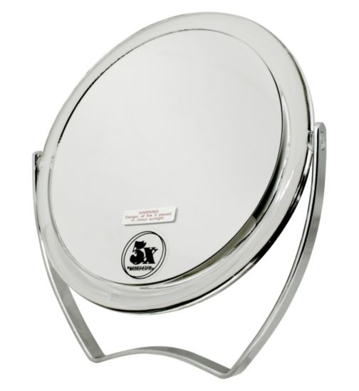 Danielle Creations Easel Style mirror in durable acrylic finish