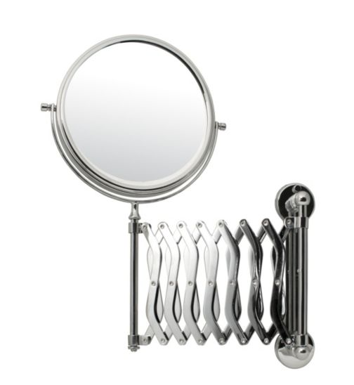 Danielle Creations Shaving Mirror With Extending Arm
