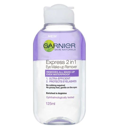 Garnier 2in1 Eye Make-up Remover 125ml