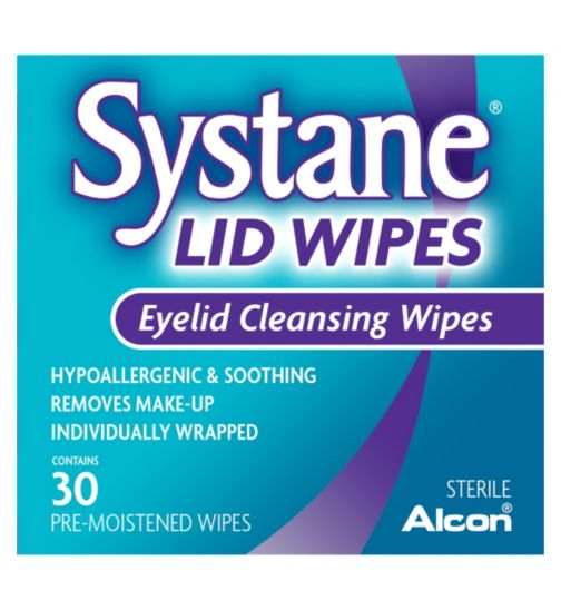 SYSTANE Eyelid Cleansing Wipes - 30 Wipes