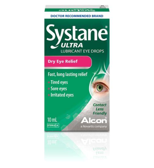 SYSTANE Ultra Lubricant Eye Drops - 10ml