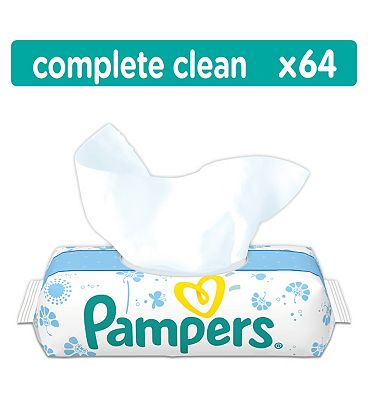 Fresh Clean Baby Wipes - 64Pack