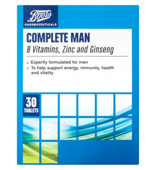 Boots Complete Man - 30 tablets