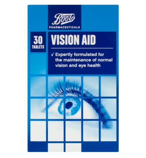 Boots Vision Aid - 30 tablets