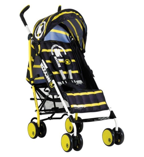 Koochi Sneaker Pushchair - Primary Yellow