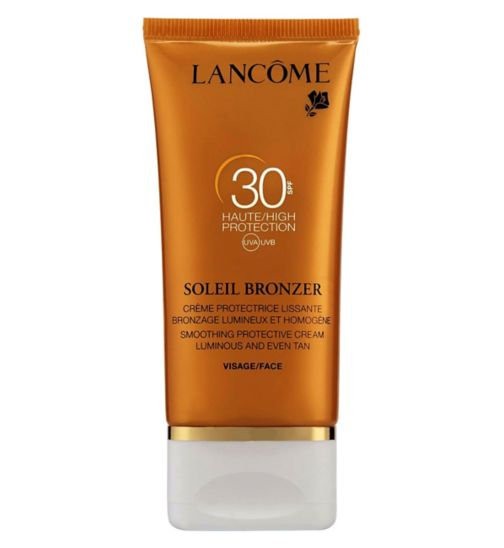 Lancome Soleil bronzer Smoothing protective cream SPF 30