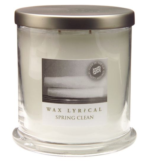 Wax Lyrical Timeless Medium Wax Filled Glass Spring Clean