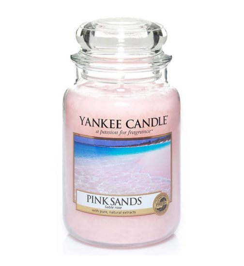 Yankee Candle Classic Large Jar Candle in Pink Sands
