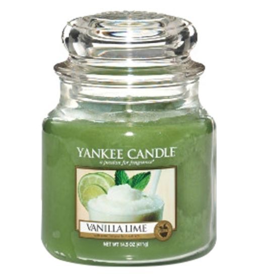 Yankee Candle Classic Medium Jar Candle in Vanilla Lime