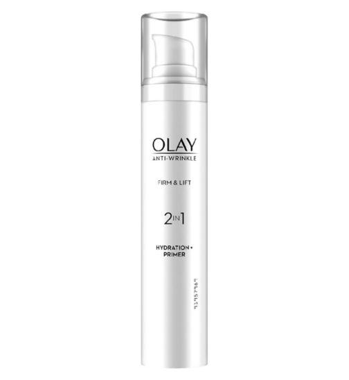 Olay Anti-Wrinkle Firm & Lift 2in1 Moisturiser + Anti-ageing Primer 50ml