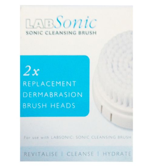 LABSONIC 2 x Replacement Dermabrasion Brush Heads