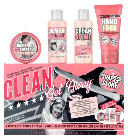 Soap & Glory Clean Getaway Gift