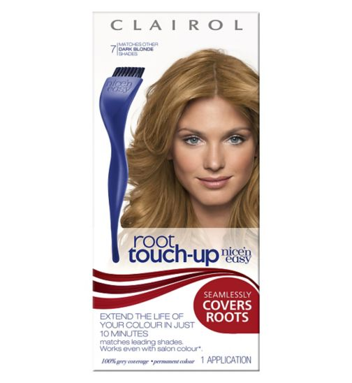 Clairol Nice n Easy Root Touch Up Dark Blonde Shade 7