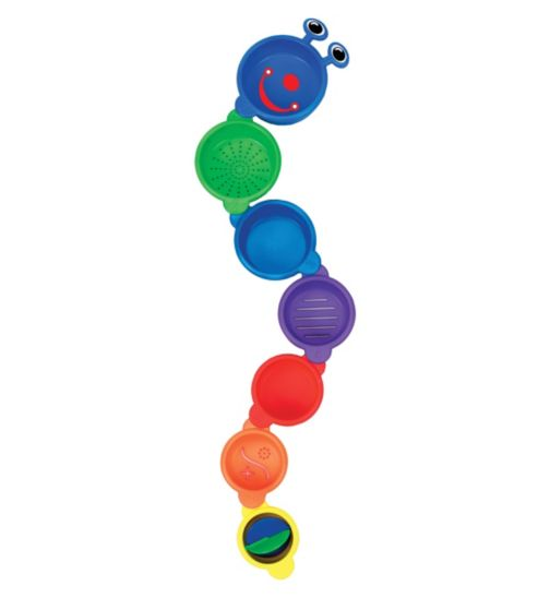 Munchkin Caterpillar Spillers Bath Cups & Toys