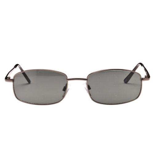 Boots Texas Men's Prescription Sunglasses - Gunmetal