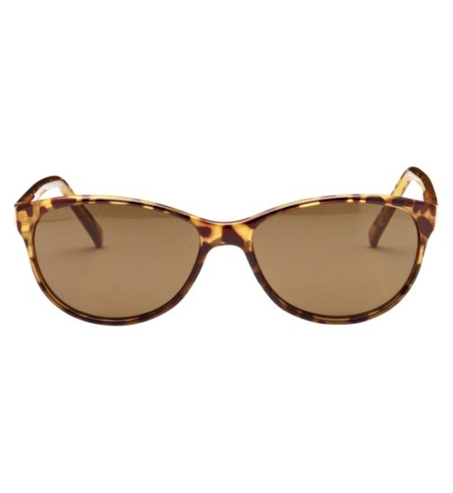 Boots Newquay Women's Prescription Sunglasses - Tortoise Shell