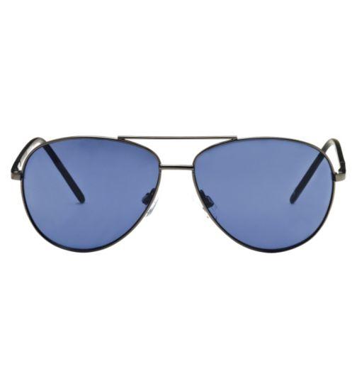 Boots Men's Prescription Sunglasses - Gunmetal BSUNM1420