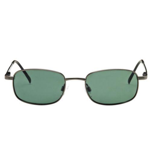 Boots Sorrento Men's Prescription Sunglasses - Gunmetal