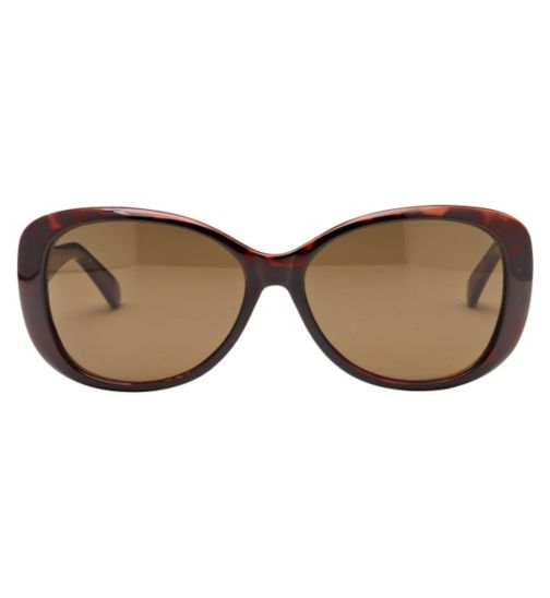 Boots Women's Prescription Sunglasses - Brown BSUNF1426