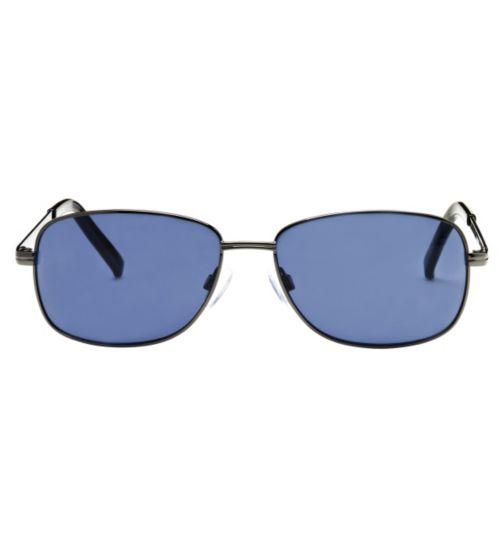 Boots Daytona Men's Prescription Sunglasses - Gunmetal