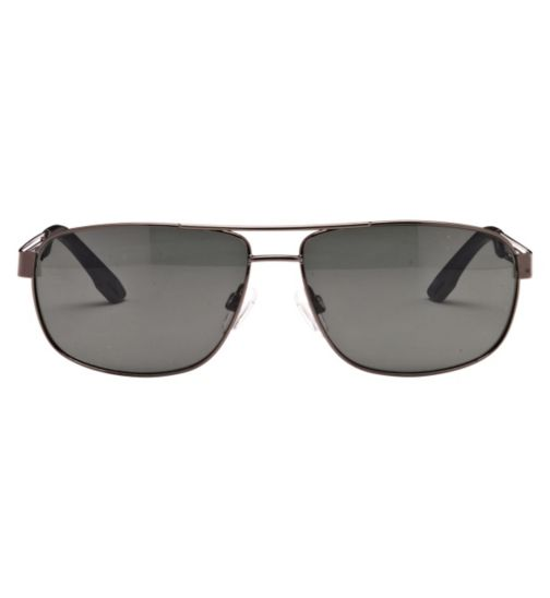 Boots Men's Prescription Sunglasses - Gunmetal BSUNM1428