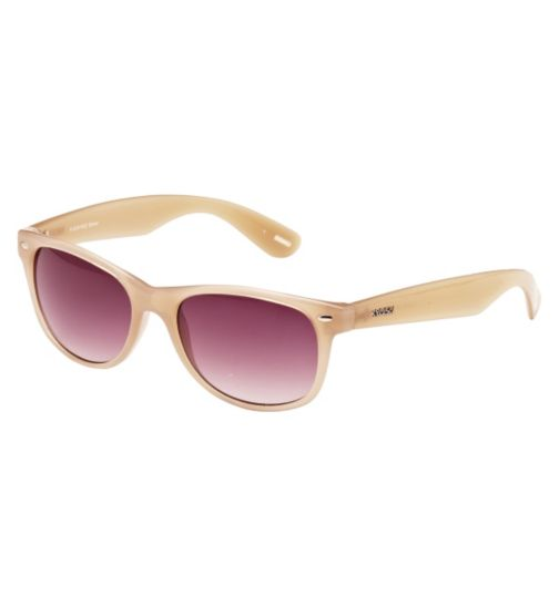 Kyusu Women's Prescription Sunglasses - Brown KSUN1403