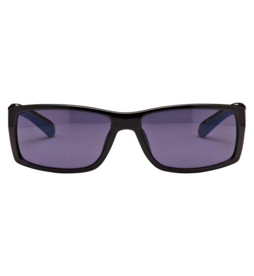 Kyusu Men's Prescription Sunglasses - Black KSUN1109