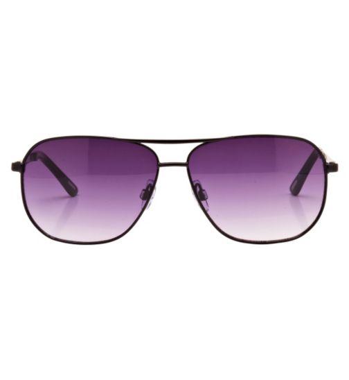 Kyusu Men's Prescription Sunglasses -  Black KSUN1406