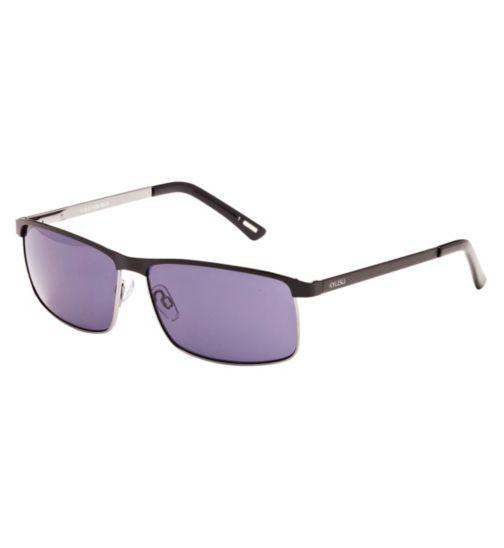 Kyusu Men's Prescription Sunglasses - Black  KSUN1408