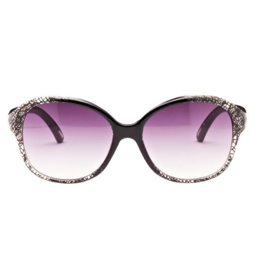 Kyusu Women's Prescription Sunglasses - Black KSUN1411