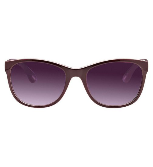 Kyusu Women's Prescription Sunglasses - Purple KSUN1413
