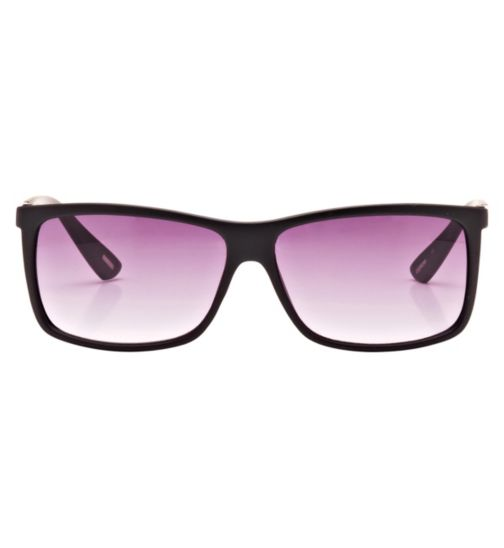 Kyusu Men's Prescription Sunglasses - Black KSUN1418