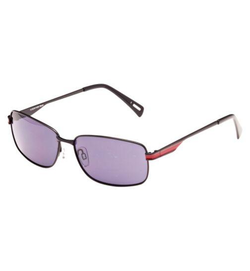 Kyusu Men's Prescription Sunglasses - Black KSUN1420