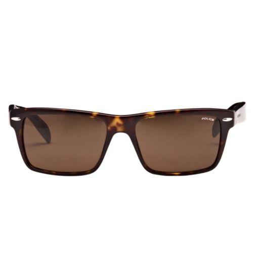 Police Men's Prescription Sunglasses - Havana S1721