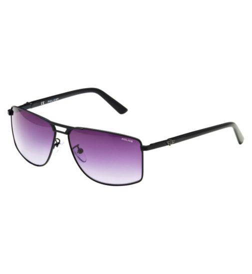 Police Men's Prescription Sunglasses - Black S8848