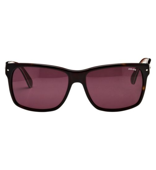 Police Men's Prescription Sunglasses - Havana S1860