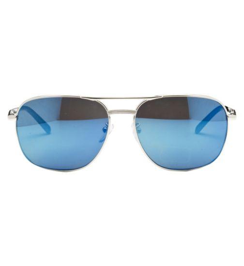 Police Men's Prescription Sunglasses - Silver S8846