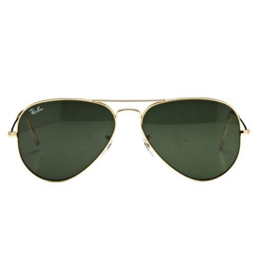 Ray-Ban Unisex Prescription Sunglasses - Gold 0RB3025