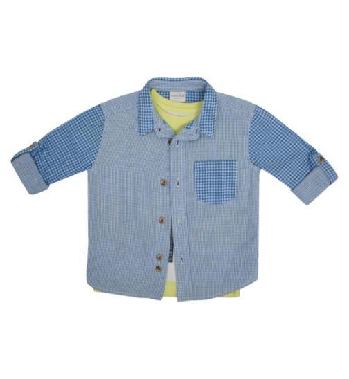 Boys Shirt & T-shirt Set - Mini Club