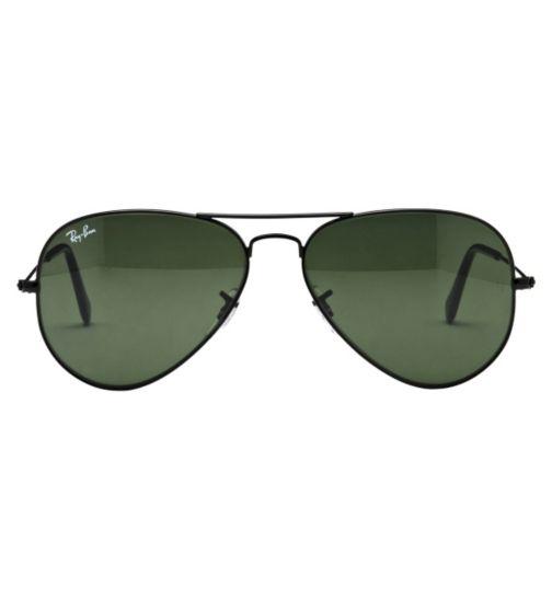 Ray-Ban Unisex Prescription Sunglasses - Black 0RB3025