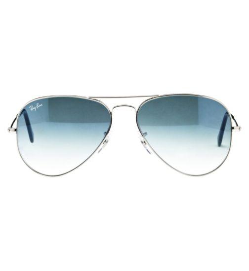 Ray-Ban Unisex Prescription Sunglasses - Silver 0RB3025