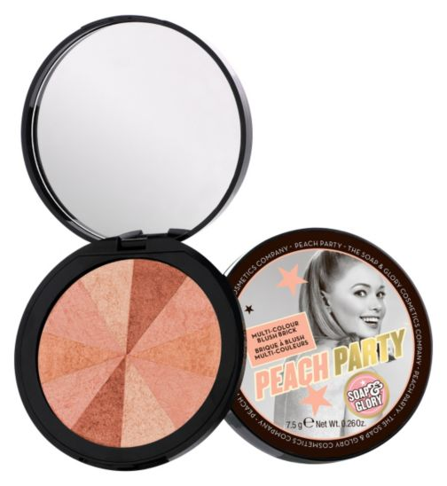 Soap & Glory™  Peach Party™  Multi-Colour Blush Brick