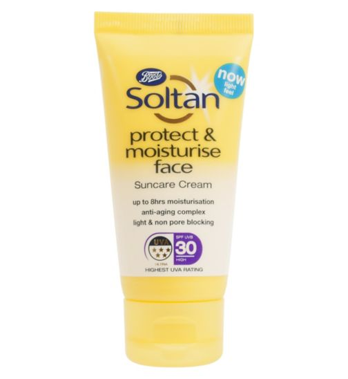 Soltan Protect & Moisturise Face Cream SPF30 50ML