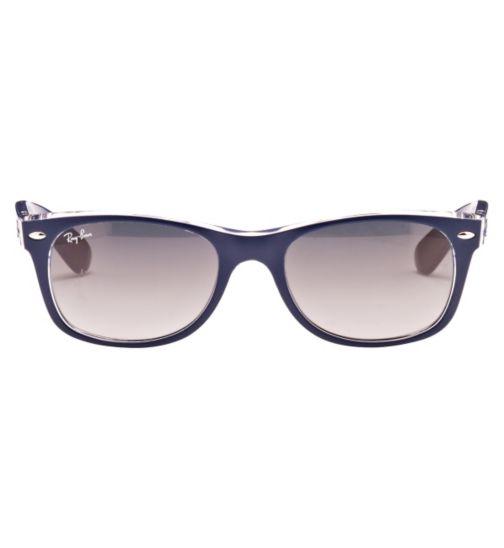 Ray-Ban 0RB2132 Unisex Prescription Sunglasses - Blue 0bd103dd4b