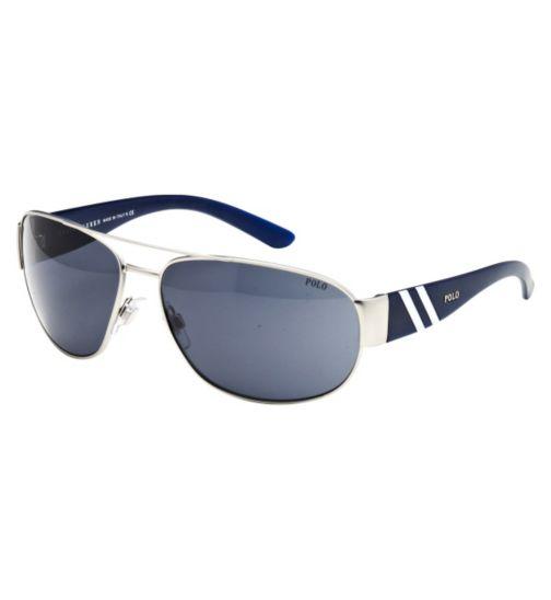 Polo Men's Prescription Sunglasses - Blue 0PH3052