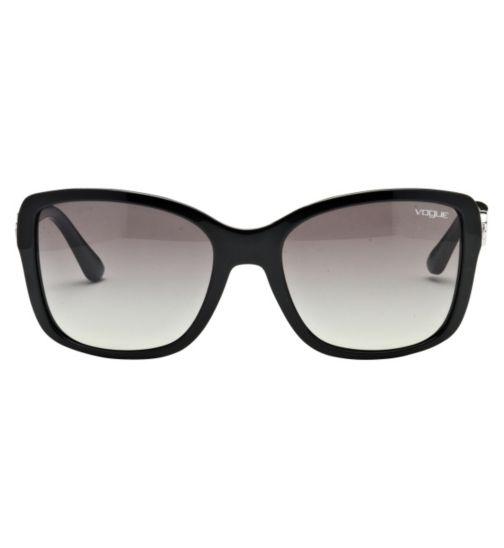 Vogue Women's Prescription Sunglasses - Black 0VO2832SB